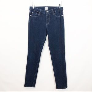 Jigsaw Denim Slim Leg High Rise Jean 8